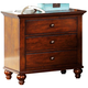 Liberty Furniture Hamilton 3 Drawer Night Stand 341-BR61 EST SHIP TIME IS 4 WEEKS