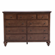Liberty Furniture Hamilton 9 Drawer Dresser 341-BR32