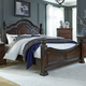 Liberty Furniture Messina Estates King Poster Bed SPECIAL