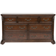 Liberty Furniture Messina Estates 7 Drawer Dresser 737-BR31