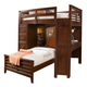 Liberty Furniture Chelsea Square Youth Twin Loft w/ Cork Bedroom 628-BR