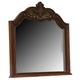 Coaster DuBarry Mirror in Mahogany 201824