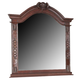 Coaster Grand Prado Dresser Mirror in Brown Cherry 202204
