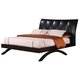 Coaster Phoenix Queen Platform Bed in Cappuccino 300356Q