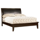 Coaster Phoenix Queen Platform Bed in Cappuccino 200410Q