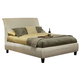 Coaster Phoenix Cal King Platform Bed in Beige 300369KW
