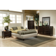 Coaster Phoenix Upholstered Bedroom Set in Beige 300369