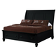 Coaster Sandy Beach Cal King Storage Bed in Black 201329KW