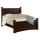 Coaster Harbor Cal King Panel Bed in Cappuccino 201381KW