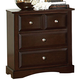 Coaster Harbor Nightstand in Cappuccino 201382