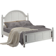 Coaster Kayla Cal King Panel Bed in White 201181KW