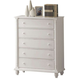 Coaster Kayla Chest in White 201185