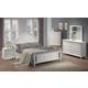 Coaster Kayla Bedroom Set in White 201181