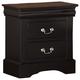 Standard Furniture Lewiston Nightstand in Black 82707