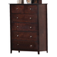 Coaster Tia Chest in Cappuccino 202085