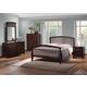 Coaster Tia Slat Bedroom Set in Cappuccino 202081