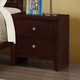 Coaster Serenity Nightstand in Merlot 201972