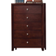 Coaster Serenity Chest in Merlot 201975