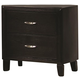 Coaster Nacey Nightstand in Black 201962