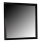 Coaster Nacey Mirror in Black 201964