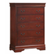 Coaster Louis Philippe Chest in Cherry 200435R