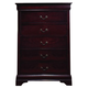 Coaster Louis Philippe Chest in Cherry 203975