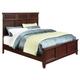 Standard Furniture Sonoma King Panel Bed in Dark Brown 86611