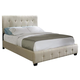 Standard Furniture Madison Square Queen Microfiber Bed in Taupe 55673