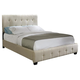 Standard Furniture Madison Square King Microfiber Bed in Taupe 55674