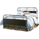 Universal Furniture Paula Deen Down Home King Garden Gate Bed in Oatmeal 192320 CODE:UNIV20 for 20% Off