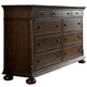 Universal Furniture Paula Deen Down Home Aunt Peggy's Dresser in Molasses 193040