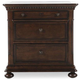 Universal Furniture Paula Deen Down Home Nightstand in Molasses 193350
