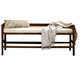 Universal Furniture Paula Deen Down Home Bed Bench in Molasses 193380