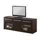 Coaster TV Console in Cappuccino 700674