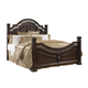 Samuel Lawrence Furniture San Marino Eastern King Panel Bed in Sanibel Finish 3530-270EK
