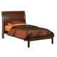 Coaster Hillary Scottsdale Youth Twin Platform Bed in Chocolate Brown 400281T