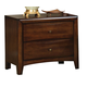 Coaster Hillary Scottsdale Youth Nightstand in Chocolate Brown 200642