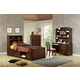 Coaster Hillary Scottsdale Youth 4pc Chest Bedroom Set in Chocolate Brown 400280