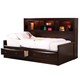 Coaster Phoenix Youth Twin Daybed in Cappuccino 400410T
