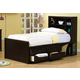 Coaster Phoenix Youth Full Chest Bed in Cappuccino 400180F