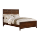 Samuel Lawrence Furniture SLD Bayfield Queen Panel Bed in Sienna Finish 8280-250