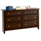 Coaster Jasper Youth Dresser in Cappuccino 400753 CLEARANCE