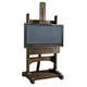 Universal Furniture Great Rooms Media Easel in Whiskey Barrel 026970