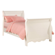 Coaster Pepper Youth Twin Sleigh Bed in White 400360T