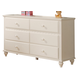 Coaster Pepper Youth Dresser in White 400363