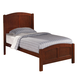 Coaster Parker Youth Twin Panel Bed in Cappuccino 400291T