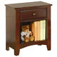 Coaster Parker Youth Nightstand in Cappuccino 400292