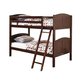 Coaster Parker Youth Twin/Twin Bunk Bed in Cappuccino 460213
