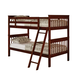Coaster Parker Youth Twin/Twin Slat Bunk Bed in Cappuccino 460231