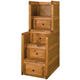 Coaster Youth Stairway Chest in Brown 460098